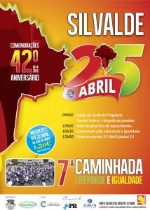 25 abril | 7ª Caminhada Liberdade e Igualdade