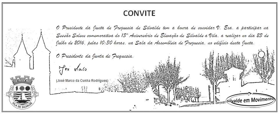 Convite 13º Aniversário - Vila